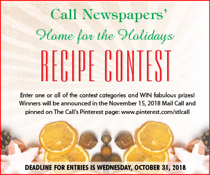 Enter the Call's 2018 Home for the Holidays Recipe Contest