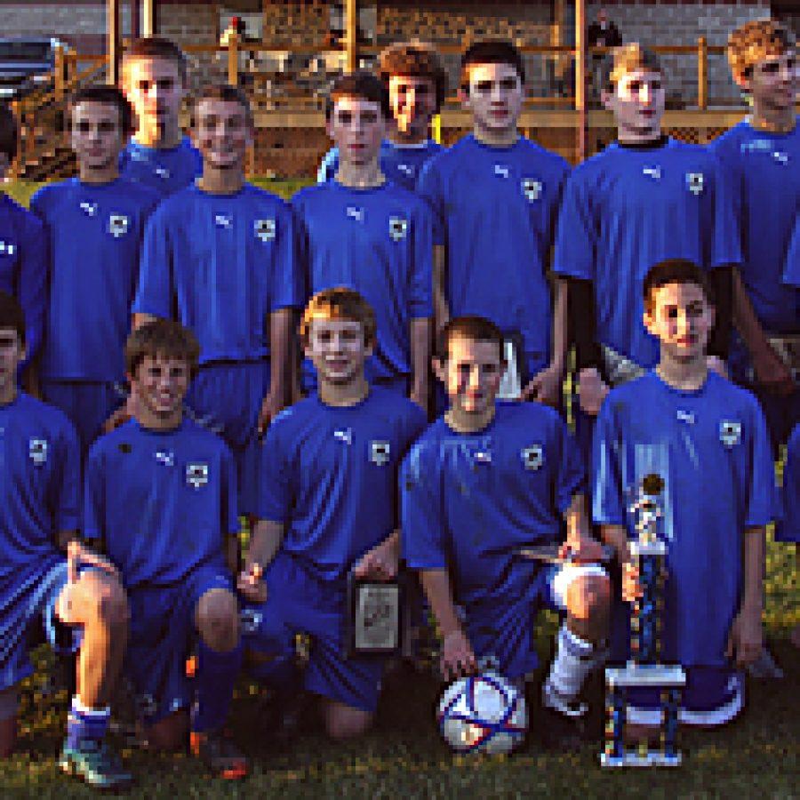 QAS soccer team captures title