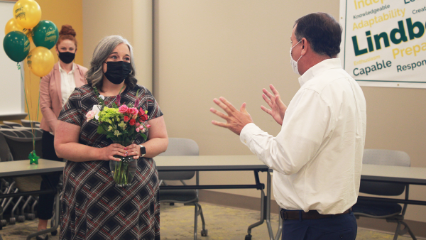 Lindbergh head nurse Jessica Franklin named Support Staff Person of the Year
