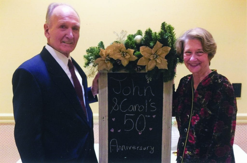 Pictured+above%3A+John+and+Carol+Cleary+at+their+50th+anniversary+celebration.+