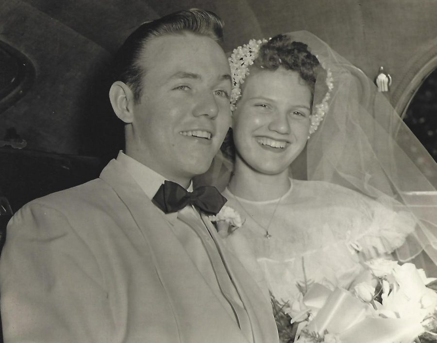 John and Ethel O'Brien on their wedding day.