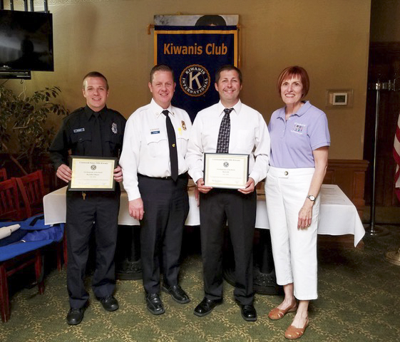 The Crestwood-Sunset Hills Kiwanis honors First Responders of the Month