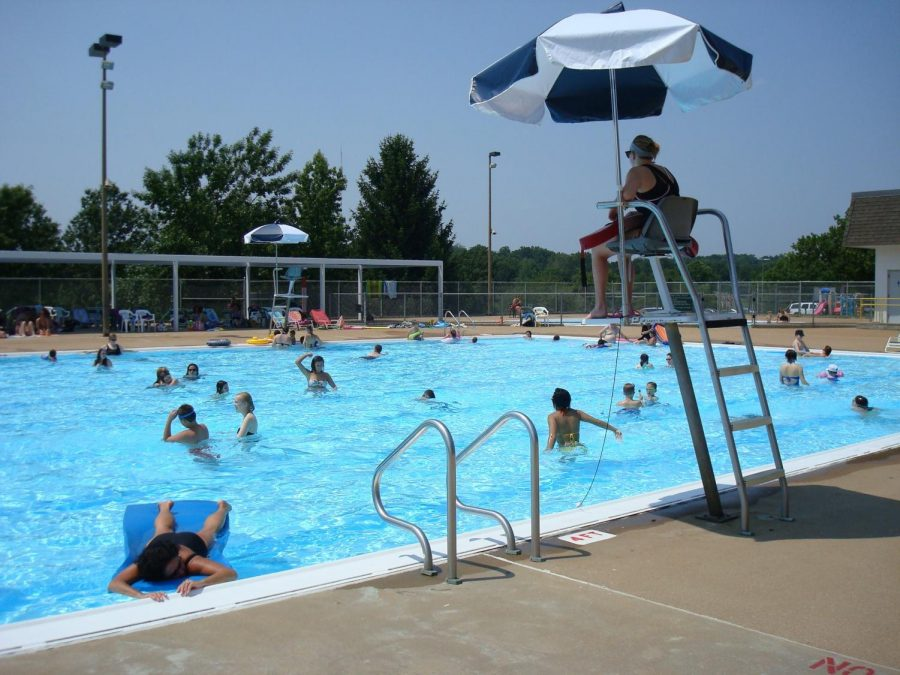 The pool at the Kennedy Recreation Center.
