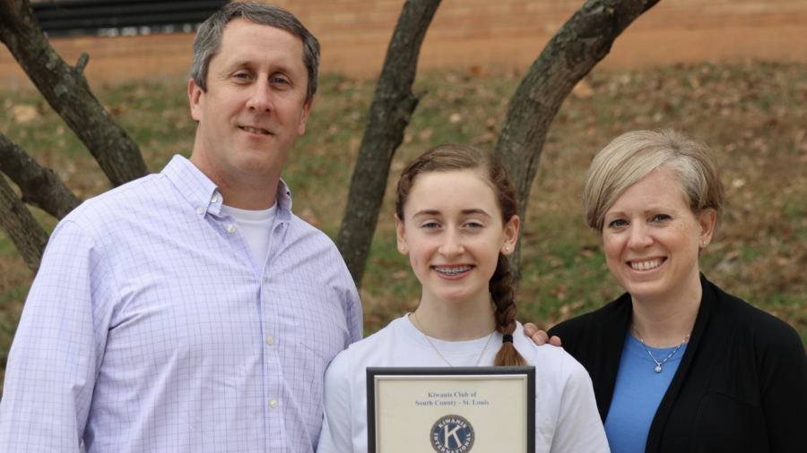 Allison+Miller+honored+as+Outstanding+Student+at+Washington+Middle+School
