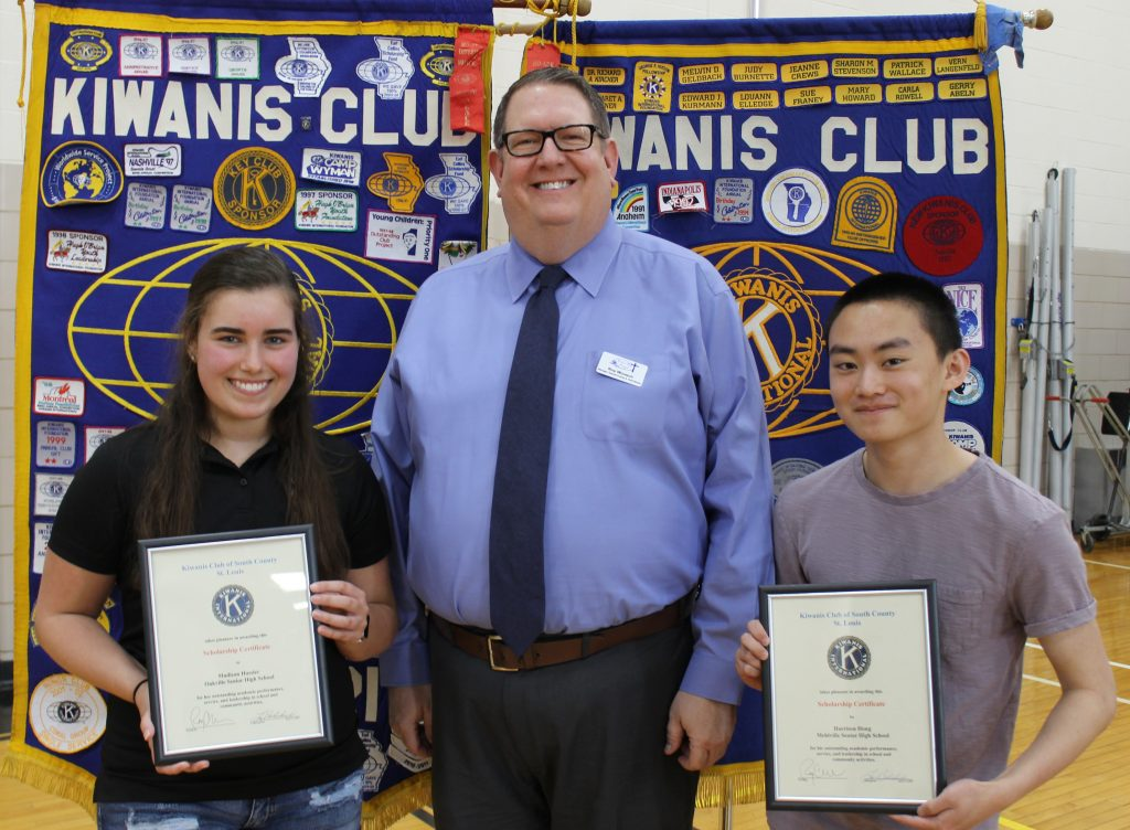 South+County+Kiwanis+Club+presents+scholarships+to+Mehlville+students