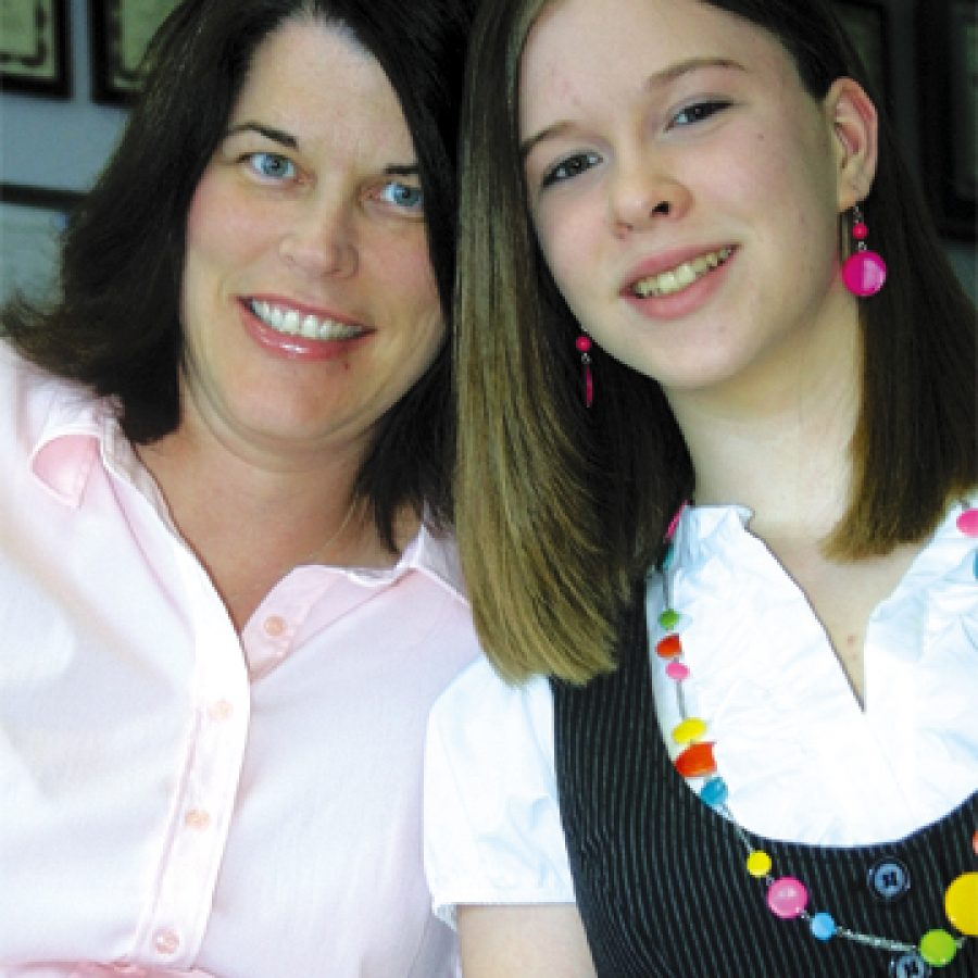 Fourteen-year-old Kristina Kohl nominated her mother, Colleen, to become the Call's Mother of the Year.
