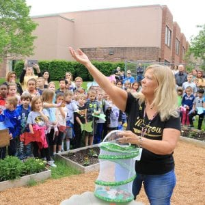 Hagemann honors teacher with memory garden