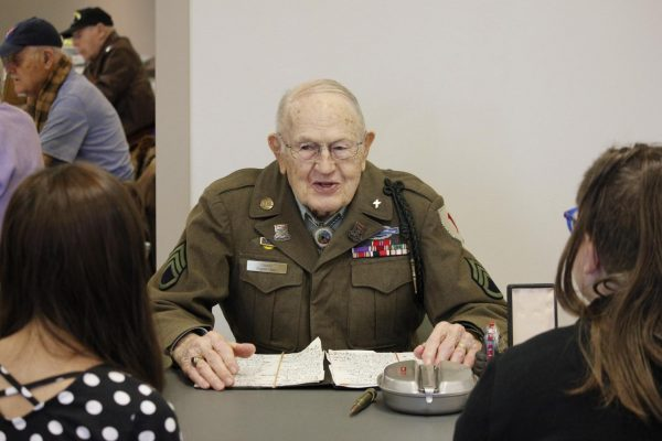 History comes alive with World War II veterans