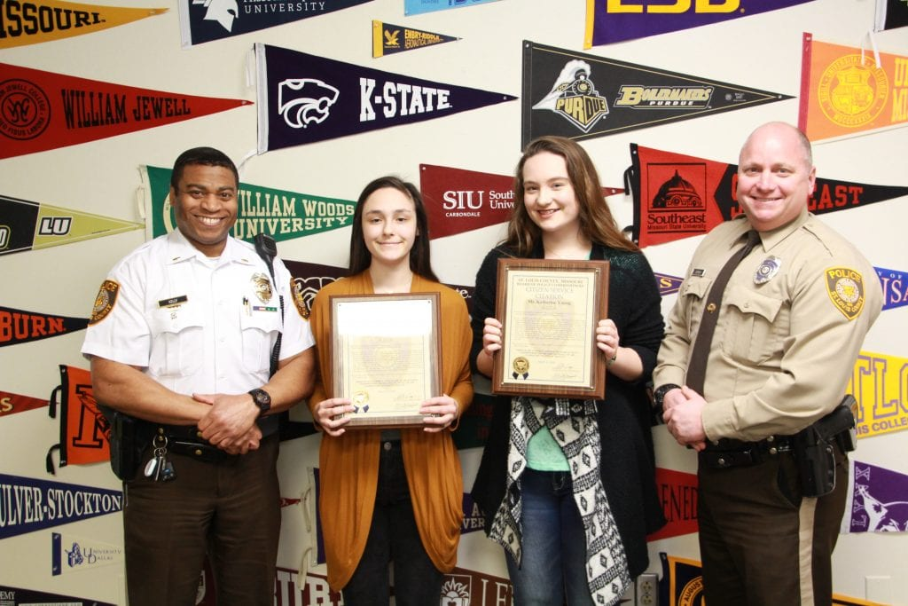 Lindbergh+High+students+honored+by+police