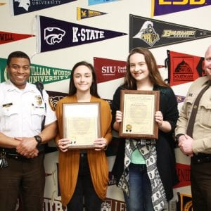 Lindbergh High students honored by police