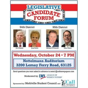 Forum set for 94th, 95th House races