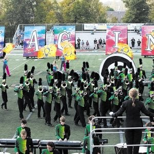 Lindbergh band places first in competition
