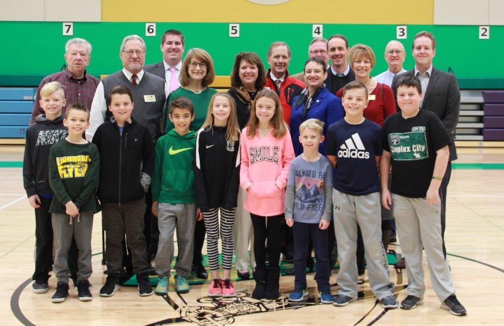Dressel+Elementary+School+students+recently+welcomed+local+elected+officials+on+Dec.+8%2C+for+Lindbergh+Schools%E2%80%99+annual+elected+officials+breakfast.+Attendees%2C+from+left%2C+are%3A+Green+Park+Mayor+Bob+Reinagel%3B+Crestwood+Mayor+Gregg+Roby%3B+Crestwood+Alderman+Grant+Mabie%3B+Barbara+Fraser%2C+education+liaison+for+County+Executive+Steve+Stenger%3B+Grantwood+Village+Trustees+Patricia+Williams+and+Mark+Kienstra%3B+Rep.+Sarah+Unsicker%3B+Sunset+Hills+Alderman+Kurt+Krueger%3B+Sen.+Scott+Sifton%3B+Fenton+Alderman+Chris+Clauss%3B+Green+Park+Alderman+Michael+Broughton%3B+and+Crestwood+Alderman+Justin+Charboneau.