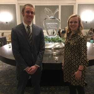 Two Lindbergh teachers receive Emerson Award