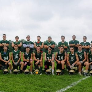Lindbergh head coach Nathan Norman begins his third year at the helm of the football Flyers and is optimistic about the 2018 season. Photo by Jessica Belle Kramer.