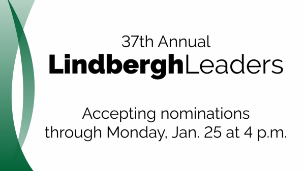 Lindbergh Schools seeks nominations for 2021 Lindbergh Leaders, focusing on 2020 heroes