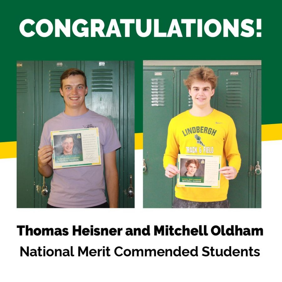 LHS seniors recognized by National Merit Scholarship Corporation