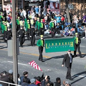 Lindbergh band makes third appearance in Rose Parade