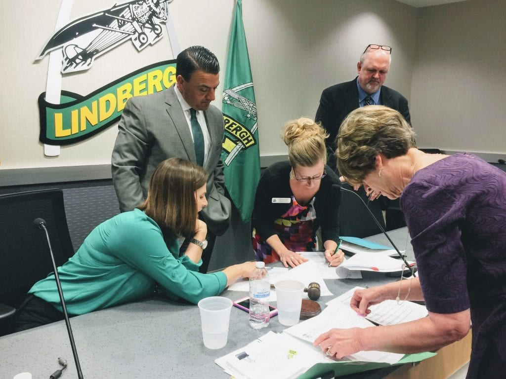 Lindbergh+starts+new+committees