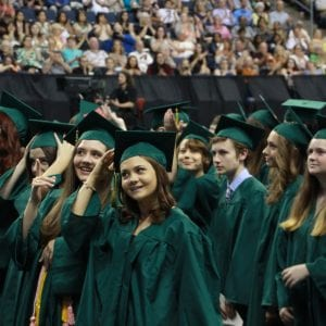 Pictured above: Lindbergh High School 2018 graduation.