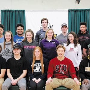 Lindbergh students commit to college play