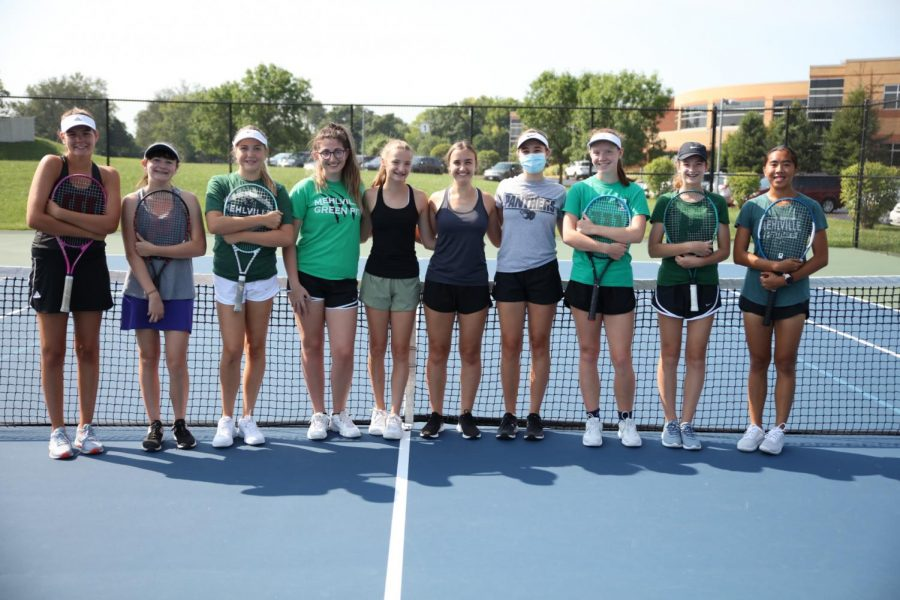 MHS tennis mix of veterans and newcomers