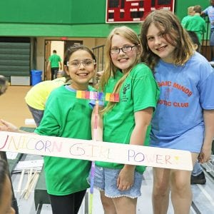 Mehlville elementary students compete in high-school robotics competition with Boeing