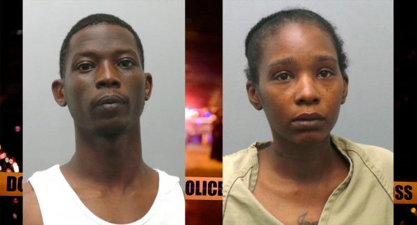 Markus Billingsley, left, and Radonna Smith in their mugshots.