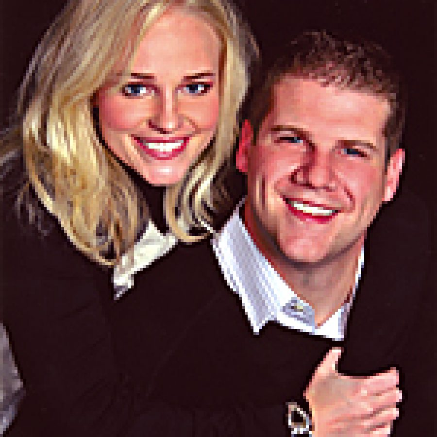 Jessica Newsham and Shawn McGuire