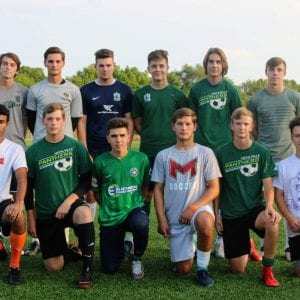 Mehlville High's head boys' soccer coach Tom Harper says his team's roster for the 2018 season includes 'good leaders who have been through the battles already' and 'big, tall, strong and physical guys.' Photo by Jessica Belle Kramer.