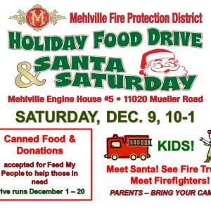 Holiday food drive sponsored by fire district