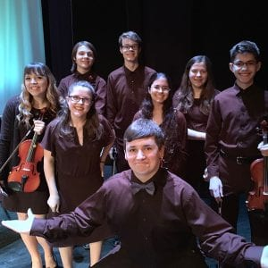 Mehlville students perform with the pros