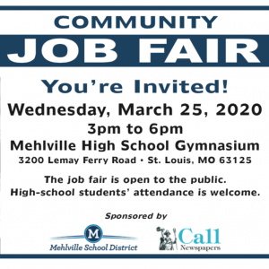 Mehlville School District, Call Newspapers host a Community Job Fair