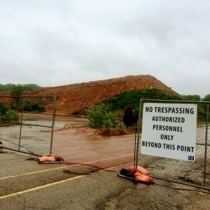 'Mount Crestwood' may soon be flattened