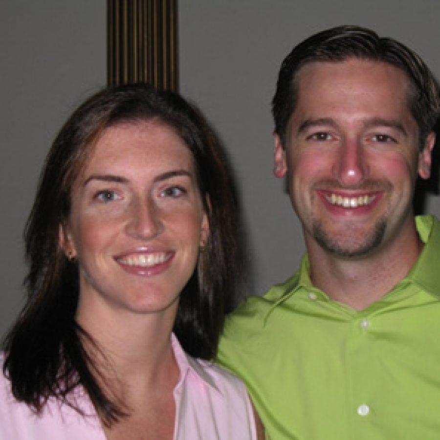 Heather Mattingly and Jeff Wright