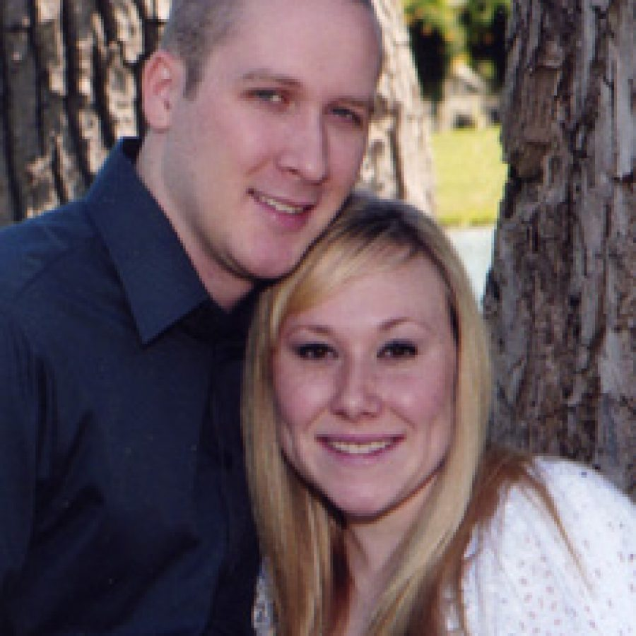 Joshua Jegel and Lauren Stepp