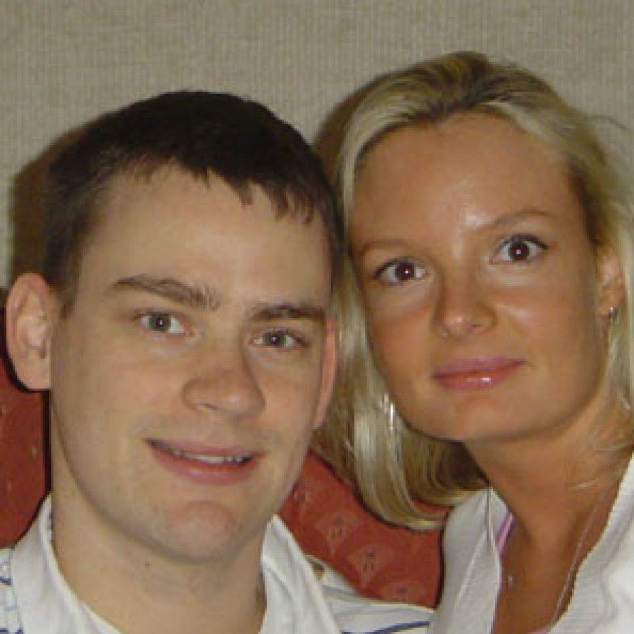 Christian Barger and Debra Wanersten