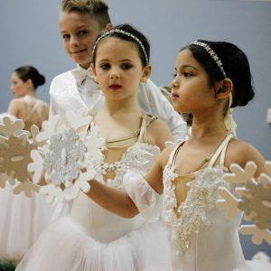 Students at Gateway Dance Conservatory rehearse for the studio's first full-length production of Tchaikovsky's 'The Nutcracker' in Pacific Nov. 23, 2019. Gateway is a nonprofit studio that meets at The Pavilion at Lemay and provides underprivileged dance students with scholarships and other financial aid, as well as inclusionary classes for students with special needs. Gateway performed 'The Nutcracker' in December 2019 at Bayless High School. Photo by Erin Achenbach.