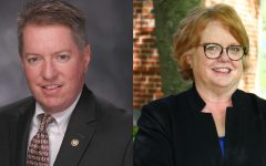 Rep. Michael O'Donnell, left, and Ann Zimpfer, right.