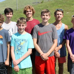 Oakville High head coach Steve Headrick says his boys cross country Tigers are young, but are running for a strong top five this year.