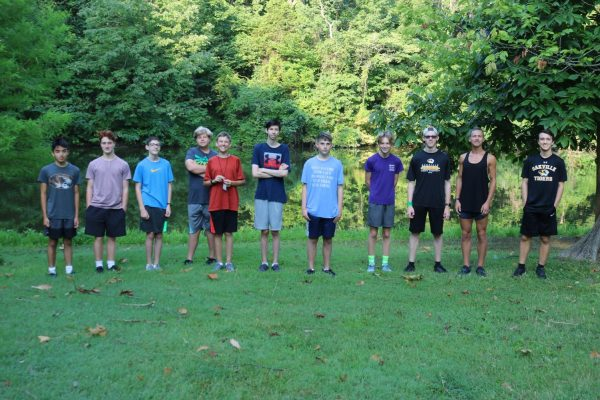 Oakville boys cross country ready to get back into the grind