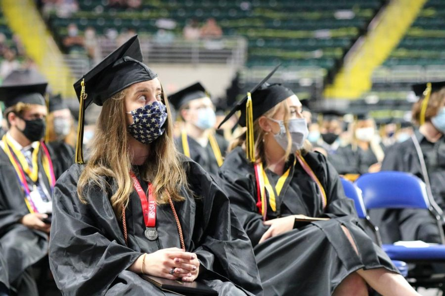 PHOTOS: Oakville High School celebrates Class of 2020 with masked graduation