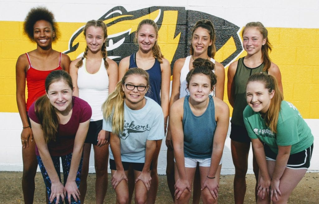 Oakville head coach Drew Moore said his top runners are returning, along with a bodybuilder and a key player returning from injury. Photo by Bill Milligan.