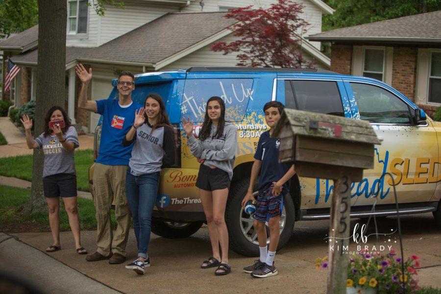 Oakville+graduation+parade+Ezell