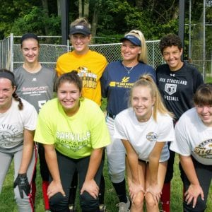Oakville High head coach Rich Sturm wants to continue the girls' softball string of victories this year, with a state championship within reach. Photo by Bill Milligan.