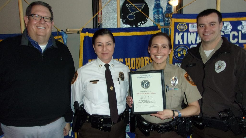 South+County+Kiwanis+Club+honors+officer