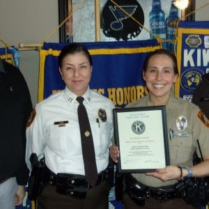 South County Kiwanis Club honors officer