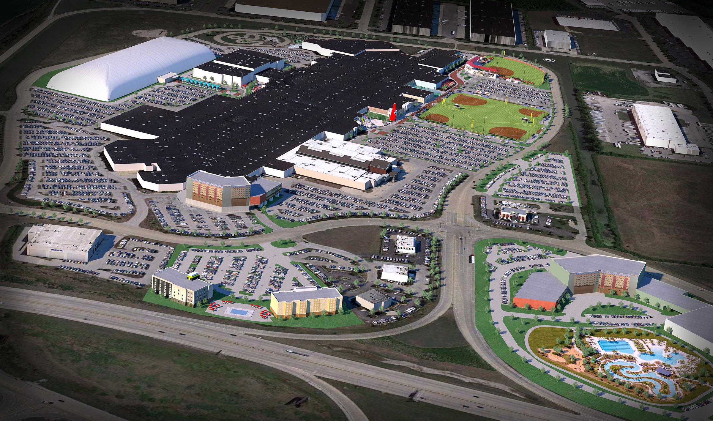 Youth sports complex 'PowerPlex' will open in St  Louis