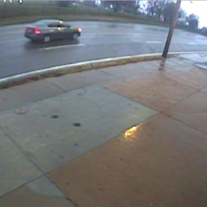 Police released this surveillance photo of a car they say hit and killed a 64-year-old pedestrian crossing South Broadway in Lemay on Black Friday.