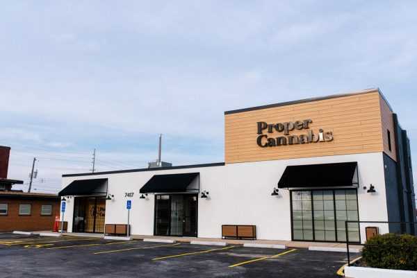 Proper Cannabis, 7417 S. Lindbergh Blvd., near South County Center. The store will open in mid-April as a high-end retail store, and needed no zoning from St. Louis County because it is in a C-3 Commercial Shopping District, where dispensaries are allowed as a use.